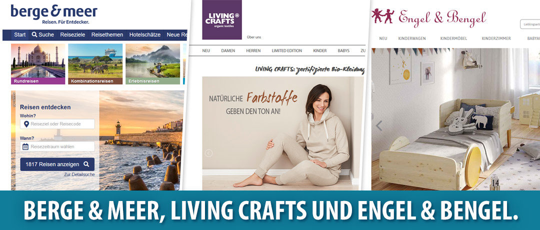 Neu bei elitebonus.de: Berge & Meer, Living Crafts und Engel & Bengel