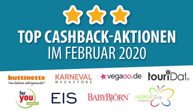 Cashback-Aktionen Februar 2020