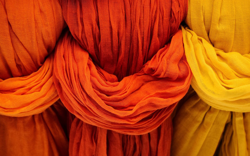 Modefarben Orange